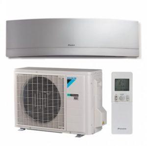 Daikin Inverter Split Klimaanlage - Aussenteil, Fernbedienung & Innenteil